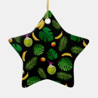 Ninja Ceramic Star Ornament