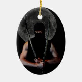 Ninja Christmas Ornament