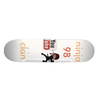 ninja clan98 skateboard deck