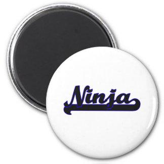 Ninja Classic Job Design 2 Inch Round Magnet