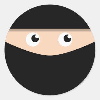 Ninja! Classic Round Sticker