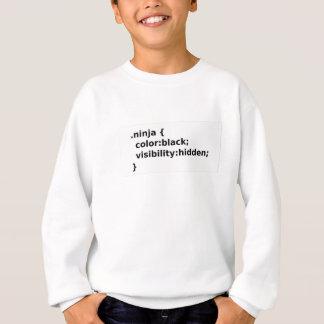 Ninja Coder CSS Class Sweatshirt