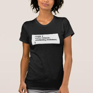 Ninja Coder CSS Class T-Shirt