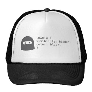 Ninja Computer Programer Trucker Hat for Men