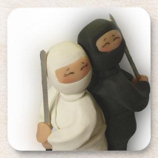 Ninja Couple Coasters