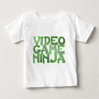 NINJA de JEU VIDÉO (vert) T-shirt Pour Bébé