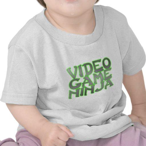 NINJA de JEU VIDÉO (vert) T-shirt