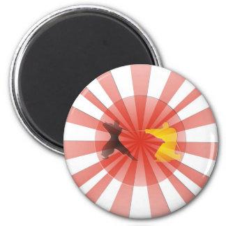 Ninja Dreaming Fridge Magnets
