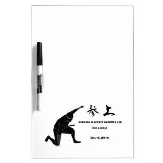 Ninja Dry Erase Whiteboard