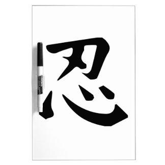 Ninja Dry-Erase Whiteboard
