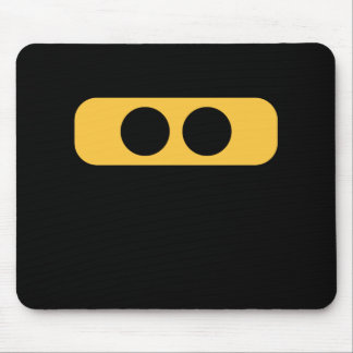 Ninja eyes mouse pad