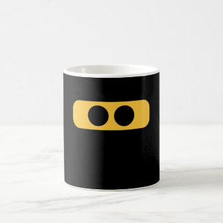 Ninja face coffee mug