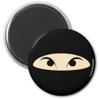 Ninja Face Refrigerator Magnets