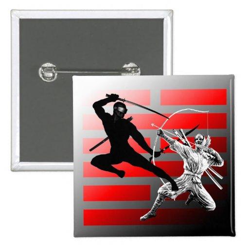 Ninja Fight square Button