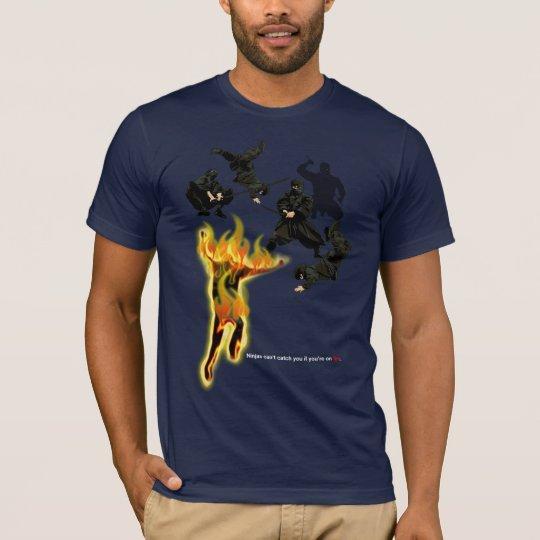 NINJA FIRE FIGHT T-Shirt
