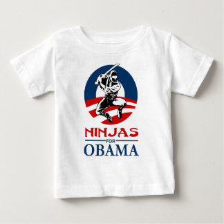ninja for obama light shirt