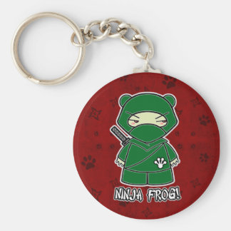 Ninja Frog! In Red Keychain