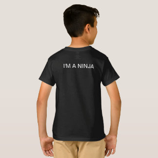 NINJA GAMER BLACK T SHIRT
