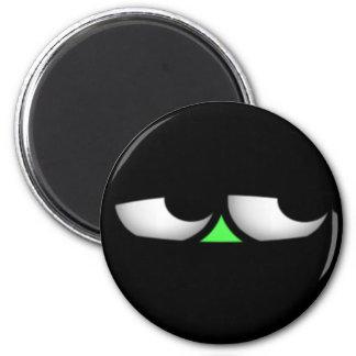 Ninja-Green 2 Inch Round Magnet