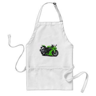 Ninja Green Bike Apron