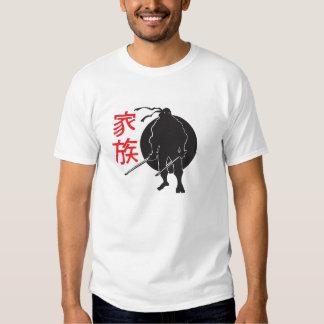 Ninja in shadow tee shirts