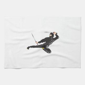 Ninja Kick Hand Towels