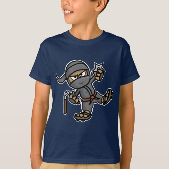 Ninja Kids Dark T-Shirt (navy blue)