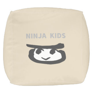 NINJA KIDS POUF