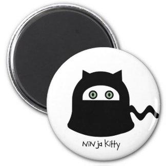 Ninja Kitty magnet