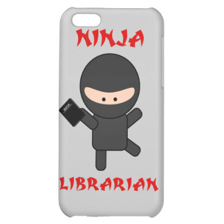 Ninja Librarian With Book iPhone 5C Case