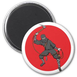 Ninja Fridge Magnet