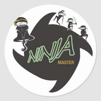 Ninja Master Stickers