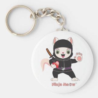 Ninja MEOW™ Keychain