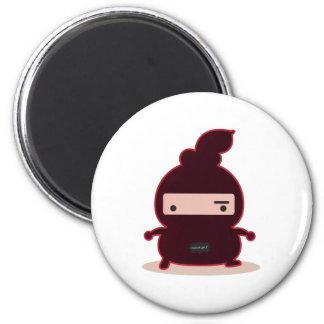 Ninja mokz 2 inch round magnet