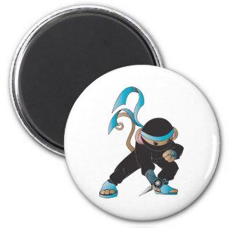 ninja monkey 2 inch round magnet