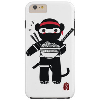 Ninja Monkey Phone case. Tough iPhone 6 Plus Case