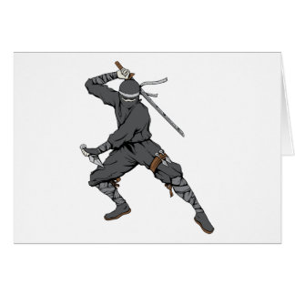 Ninja ~ Ninjas 2 Martial Arts Warrior Fantasy Art Card