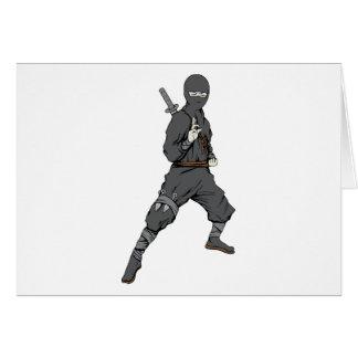 Ninja ~ Ninjas 5 Martial Arts Warrior Fantasy Art Card