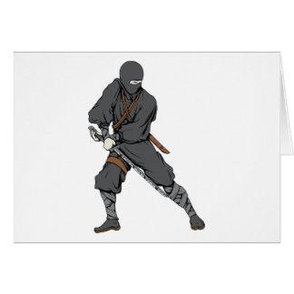 Ninja ~ Ninjas 6 Martial Arts Warrior Fantasy Art Card