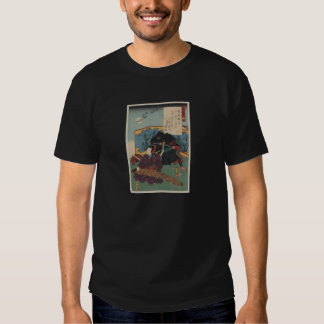 Ninja Painting circa 1853 Japan Tshirt
