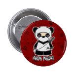 Ninja Panda! In Red Button