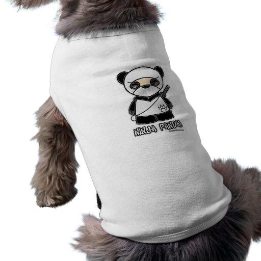 Ninja Panda! Pet Clothing