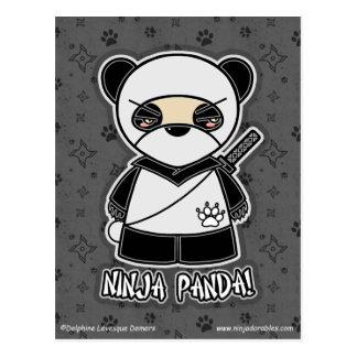 Ninja Panda! Postcard