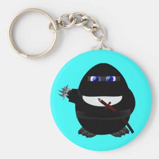 Ninja Penguin Keychain