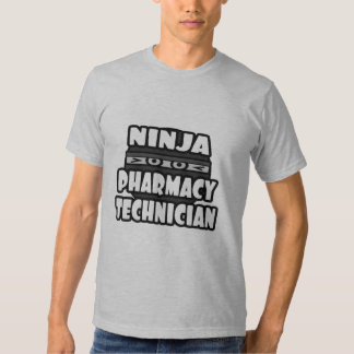 Ninja Pharmacy Technician Tshirt