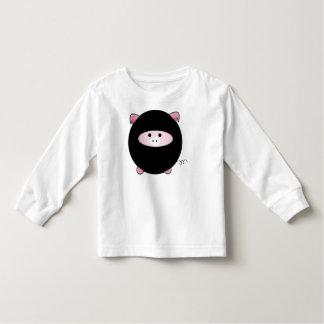 Ninja Pig Long Sleeved Tshirt