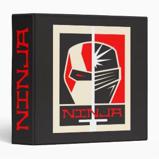 Ninja Poster 3 Ring Binder