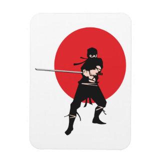 Ninja Rectangular Photo Magnet