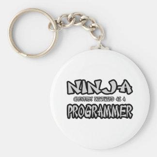 Ninja...Programmer Key Chain