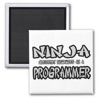 Ninja Programmer Magnet